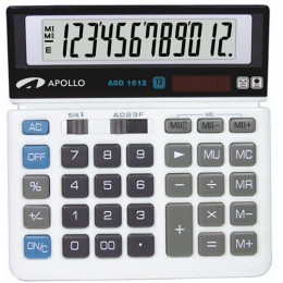 Calculator Apollo ASD-1612