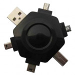 Adaptor Adaptor Gembird A-USB5TO1