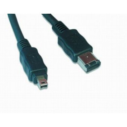 Gembird FWP-64-10 Firewire IEEE 1394 cable 6P/4P 10ft
