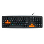 Tastatura Dialog KS-020U Black-Orange