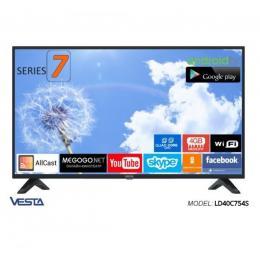 VESTA SmartTV2.0 LD40С754S, DVB-T/T2/C CI+ AndroidTV 7.0