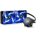 DEEPCOOL Liquid Cooler MAELSTROM 240T Blue, Socket 775/1150/1151/1155/2011/FM2/AM3