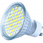 Bec Apollo SILO-LED GU10 SMD3528 48LED 2700K, GU10 with cover
