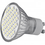 Bec Apollo SILO-LED GU10 SMD3528 48LED 6500K, GU10