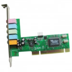 Gembird SC-5.1-3,  5.1 Sound Card, C-media CMI8738