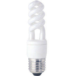 Bec Apollo Compact Fluorescent MINI SPRM9-E27 10000h
