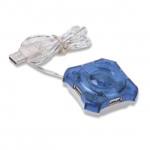 Gembird UHB-C224 Crystal USB 2.0 hub 4 USB