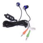 Căști stereo cu control de volum Dialog ES-280MV BLUE