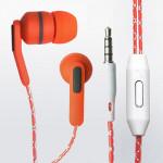 Setul cu cască Dialog ES-F15 Red cu butonul de răspuns