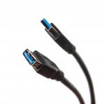 Cable Dialog HC-A4830 - USB A(M) - USB A(F), V3.0, 3m