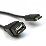 Cable Dialog HC-A6901 - OTG (Host) USB Type-C(M) - USB A(F), V2.0, 0.15m