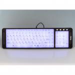 Tastatură cu iluminare din spate Dialog KK-L04 Black