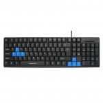 Tastatură Nakatomi KN-03U Black-Blue