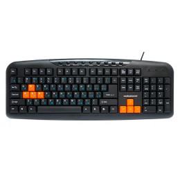 Tastatură Nakatomi KN-11U Black-Orange