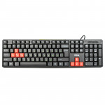 Tastatura Dialog KS-030U Black-Red