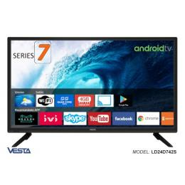 ТВ / Монитор Vesta LD24D742S HD DVB-T/T2/C AndroidTV 7.1