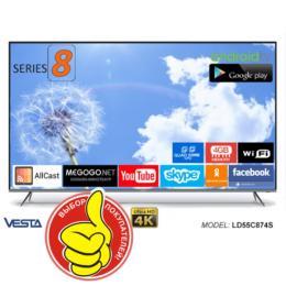 VESTA LD55C874S 4K UHD DVB-T/T2/C CI+ AndroidTV 7.1
