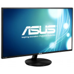 "27"" ASUS VN279Q, Black (A-MVA, 1920x1080, 5ms, 300cd, LED100M:1, D-Sub, HDMI-MHL, DP, 2x2W)"