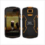 "NO.1 X1 X-Men IP68 Waterproof Phone 5.0"" HD IPS MTK6582 Quad Core 1GB RAM 13MP Camera 3300mAh Android 4.4"