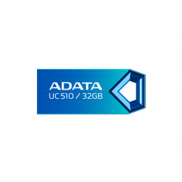 32Gb USB2.0 Flash Drive ADATA, DashDrive UC510, blue
