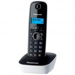 Радиотелефон Panasonic KX-TG1611UAW, White, AOH, Caller ID
