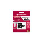 32GB MicroSDHC Transcend TS32GUSDHC10, Class 10, SD adapter, 200X