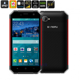 """V19H IP67 Rugged Phone Waterproof Octa Core Android 6.0 5.5"""" FHD 1920x1080 4GB RAM 64GB ROM 4G Lte"""