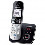 Радиотелефон Panasonic KX-TG6821UAB, Black, АОН, Caller ID