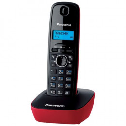 Радиотелефон Panasonic KX-TG1611UAR, Red, AOH, Caller ID