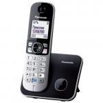 Радиотелефон Panasonic KX-TG6811UAB, Black, АОН, Caller ID