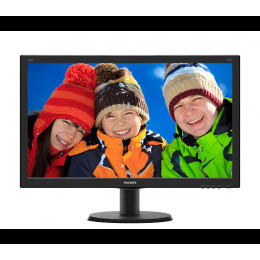 "Monitor 23.8"" Philips 240V5QDAB, W-LED, 1920*1080@60"