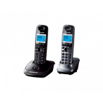 Радиотелефон Panasonic KX-TG2512UAT, Titanium, TG2511 + optional handset