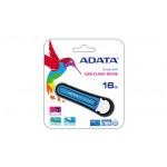 16Gb USB3.0 Flash Drive ADATA, Superior S107, blue