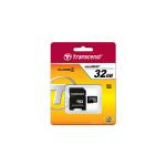 8GB MicroSDHC Transcend TS8GUSDHC4, Class 4, SD adapter