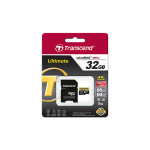 64GB MicroSDHC Transcend TS64GUSDU3M Ultimate, Class 10, SD adapter, UHS-I, U3M