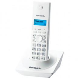 Радиотелефон Panasonic KX-TG1711UAW, White, AOH, Caller ID