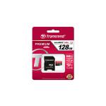 64GB MicroSDHC Transcend TS64GUSDU1 Premium, Class 10, SD adapter, UHS-I, 400X
