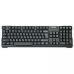 A4Tech KR-750 Comfort, RoundEdge Keycaps, USB, Black