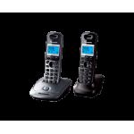 Радиотелефон Panasonic KX-TG2512UAM, Marble, TG2511 + optional handset