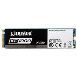 Kingston KC1000, M.2 NVMe SSD 480GB, PCIe3.0 x4 / NVMe1.2