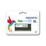 8Gb SODIMM DDR3 PC12800, 1600MHz, 204pin, CL11, ADATA, 1.35V