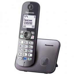 Радиотелефон Panasonic KX-TG6811UAM, Metallic Grey, АОН, Caller ID